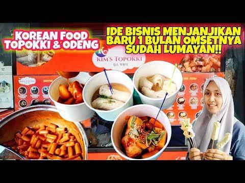 Ide Jualan Jajanan Korea Topokki Odeng Pinggir Jalan Cuma 10 Ribuan Youtube In 2021 Korean Street Food Korea 10 Things