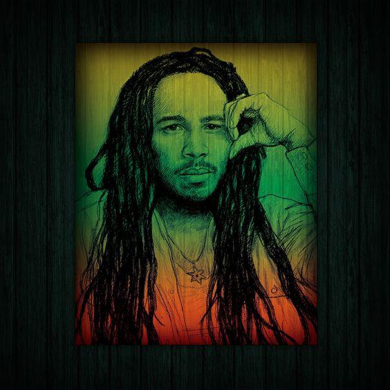 Bob Marley & The Wailers – Nice Time (single cover art)