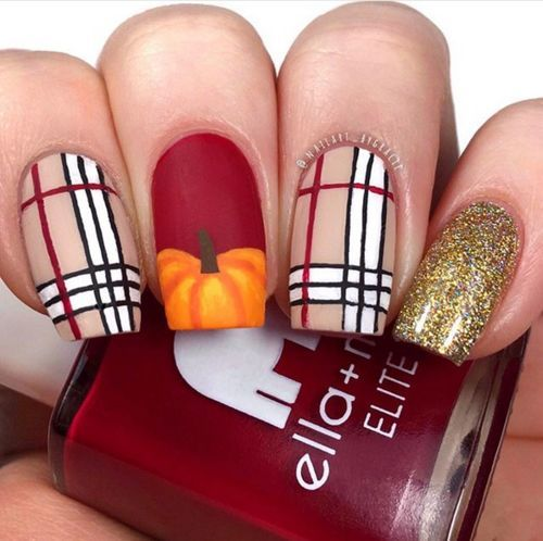 2020 Halloween Jubilee Thanksgiving Nails That Are Festive And Cute   The Beauty Jubilee