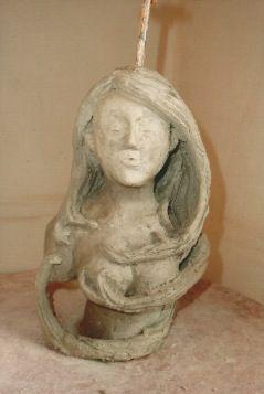 sculpture style art nouveau fait au Chambon sur Lignon