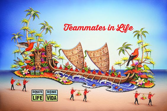 """Donate Life Organ and Tissue Donation Blog℠: 2017 Rose Parade Participants Will Be """"Teammates in life"""