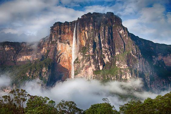 Le Salto Angel au Venezuela