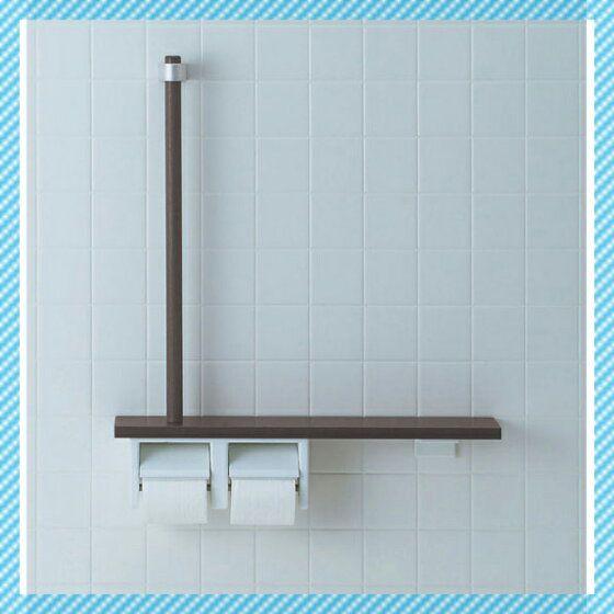 楽天市場 Nkf 3wu2 おしゃれな手すりです トイレ L型 トイレット