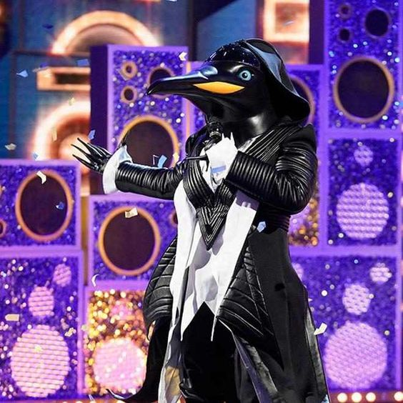 The Masked Singer Unmasks The Penguin And The Black Widow Singer Widow Entertainment Weekly