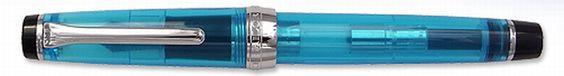 セーラーから「日本橋三越本店限定 カプリ・ブルー」が発売に: 細字万年筆にこだわる