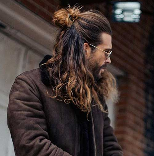 46++ Long hair for guys with thick hair ideas in 2021
