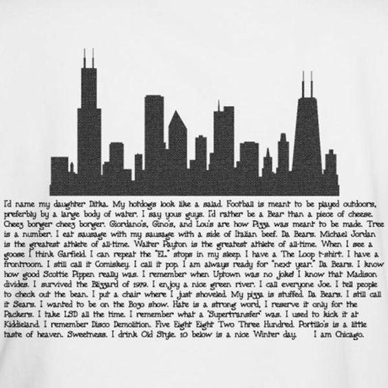 I am Chicago!