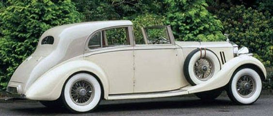 1936 Sedanca de Ville by Barker (chassis 3AZ24) Trial Car of Barker…