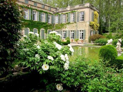 Park and Garden of  Castle  Brantes - Sorgues  - Vaucluse - Provence-Alpes-Côte d'Azur - France