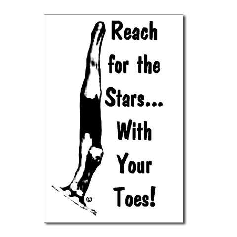 gymnastics postcards 8 stars my goals gymnastics