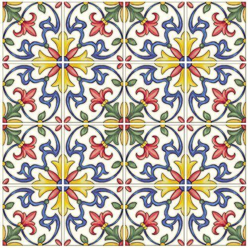Tuscan 10 X 10 Resin Peel Stick Mosaic Tile Tuscan Tile Peel Stick Backsplash Stick On Tiles
