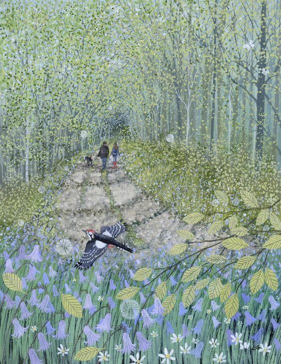Landscapes & Wildlife Portfolio | Lucy Grossmith | Heart To Art: