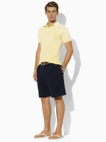 Tyler Pleated Chino Short - Polo Ralph Lauren Shorts - RalphLauren.com