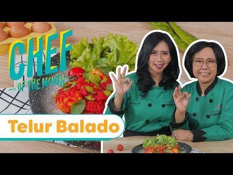 Resep Telur Balado Sisca Novia Soewitomo Chefofthemonth Nov 19 Endeus Tv Youtube Di 2020 Telur Nostalgia Masakan Indonesia