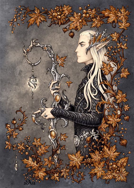 Thranduil by =Candra on deviantART: