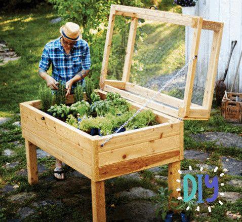 Cottage Life Herb Planters, Raised Herb Garden Planter Diy