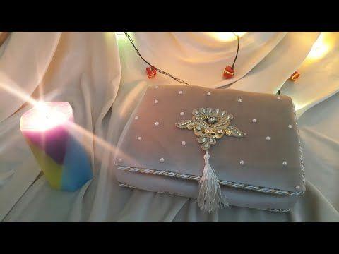 علبة ستايل تركي لحفظ المصحف الشريف او تقديمه هدية بخطوات مفصلة من الألف الى الياء Youtube Ted Baker Icon Bag Gifts Gift Wrapping