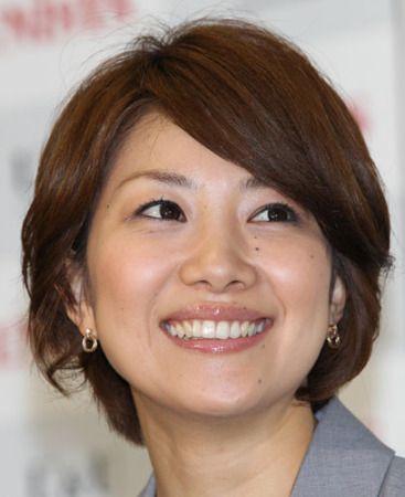 短めヘアーの潮田玲子さん