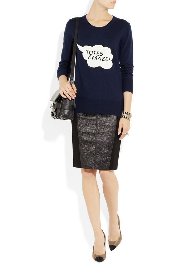Markus Lupfer Totes Amaze! sweater