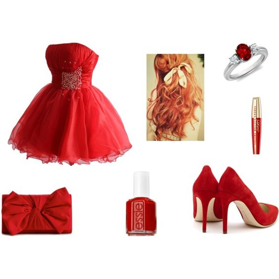 """""""red"""" by fashionloverin on Polyvore"""