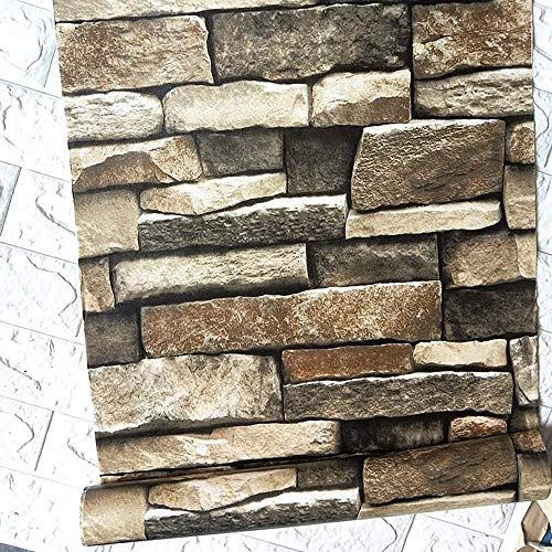118 17 7 Stacked Stone Wallpaper 3d Rock Wallpaper Peel And Stick Wallpaper Stone Self Adhesive Wallpaper In 2020 Vinyl Wallpaper Adhesive Wallpaper
