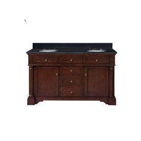 "allen + roth 61"" Auburn Albain Bath Vanity with Top -- Lowe's, $798"