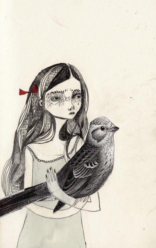 Chicas con el corazón roto y con hermosos vestidos, por KT Smail - Cultura Inquieta