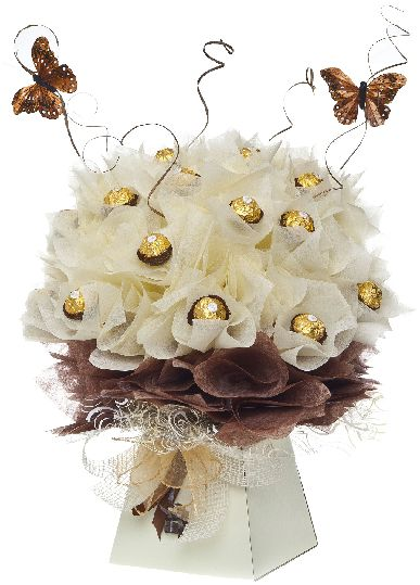 Chocolate Bouquets: