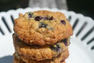 Owen's White Chocolate Blueberry Oatmeal Cookies