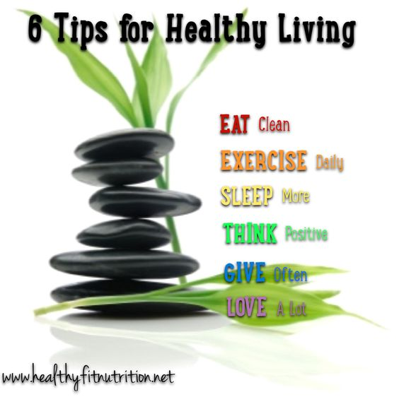 6 tips to keep you healthy and happy both physically and mentally.