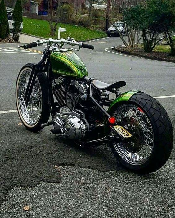 A sweet Custom Sportster Rigid.