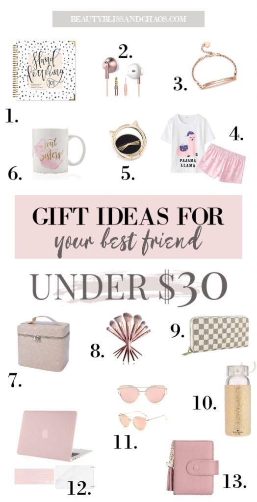 Gift Ideas For Your Best Friend 13 Thoughtful And Affordable