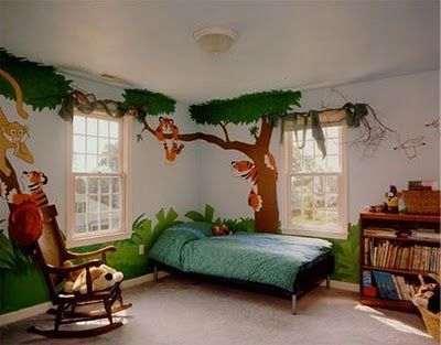 50 ideias de pintura para fazer na parede do quarto dos pequenos | Catraquinha