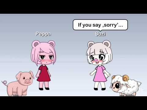 Peppa Pig Suzi Sheep Meme Gacha Life Youtube Sheep Meme Peppa Peppa Pig