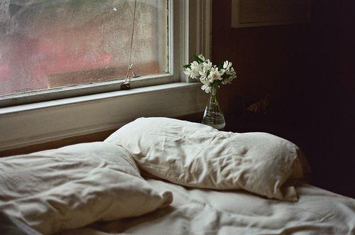 Imagem de bed, flowers, and window