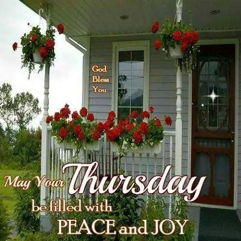 Blessed Thursday everyone...:)
