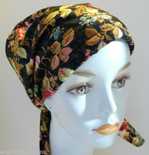 hair loss wraps and turbans on