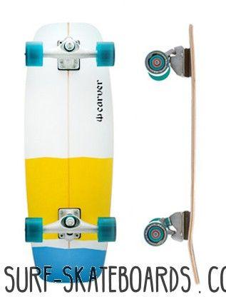 Carver Mini Simmons 27.5 - Ein progressives retro Surfskate - Sehr leicht und wenig für unterwegs! * Versandkostenfrei ab 100 € | Versand innerhalb 48 Stunden | Gratis Tool für komplett Surfskate*: