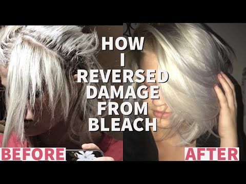 How To Grow Out Breakage From Bleach Hair Routine For Blondes