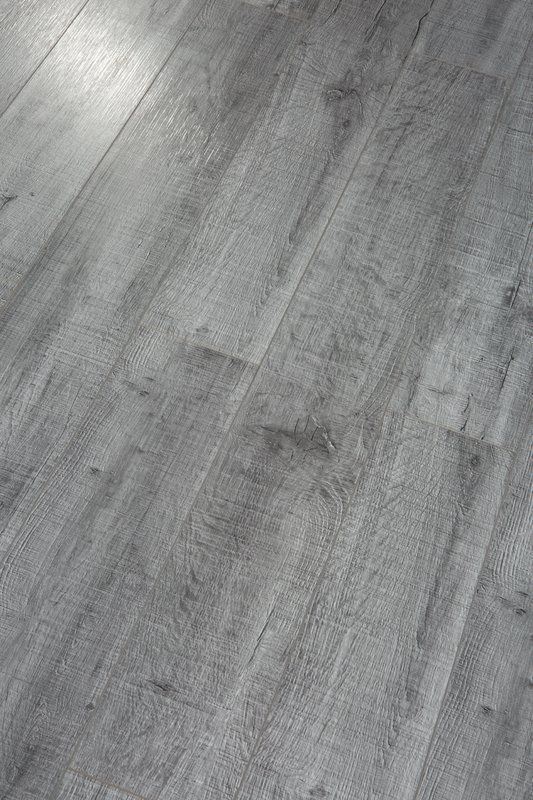 Pearl Leather 8 X 49 X 12mm Laminate Flooring In 2020 Grey Laminate Flooring Grey Hardwood Floors Laminate Flooring