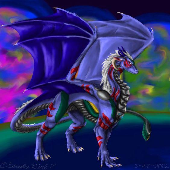 Fierce Deity Link as a dragon