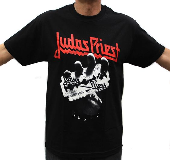 Judas Priest Rock Band Graphic T-Shirts #AAA #GraphicTee