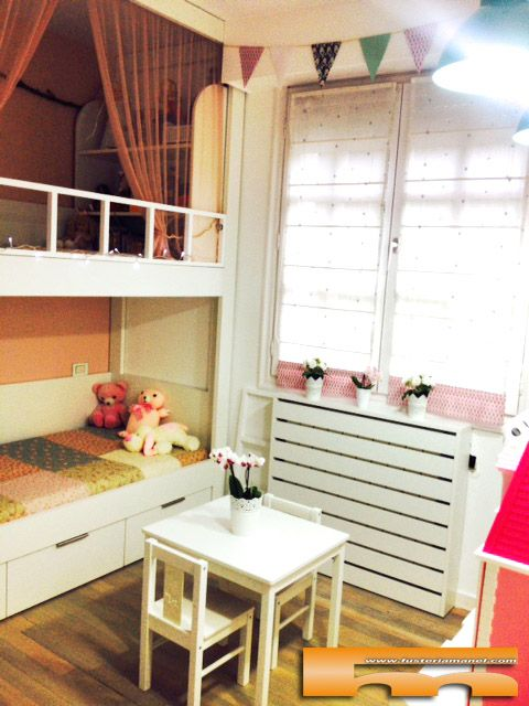 Litera escalera de cajones habitaci n infantil guipuzkoa - Literas con escaleras de cajones ...