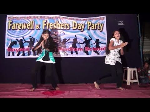 Girls rock in Farewell Party my sweet babies dance