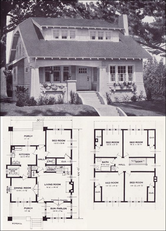 1923 Standard Homes Company The Kendall Vintage House
