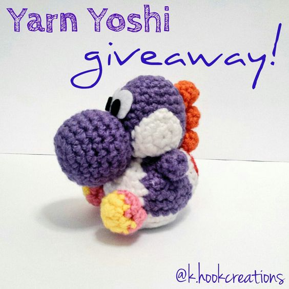 Amigurumi Yoshi Amiibo : Yarns, So cute and Crochet on Pinterest