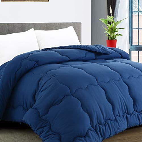 Karrism All Season Down Alternative Oversized Queen Comforter Winter Warm Ultra Soft Quilted Duvet Insert With Corne In 2021 Comforters Quilted Duvet Duvet Insert