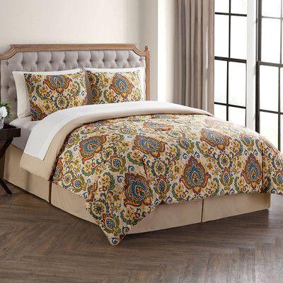 $80.77 - Wayfair - Charlton Home Casares 8 Piece Bed in a Bag Set