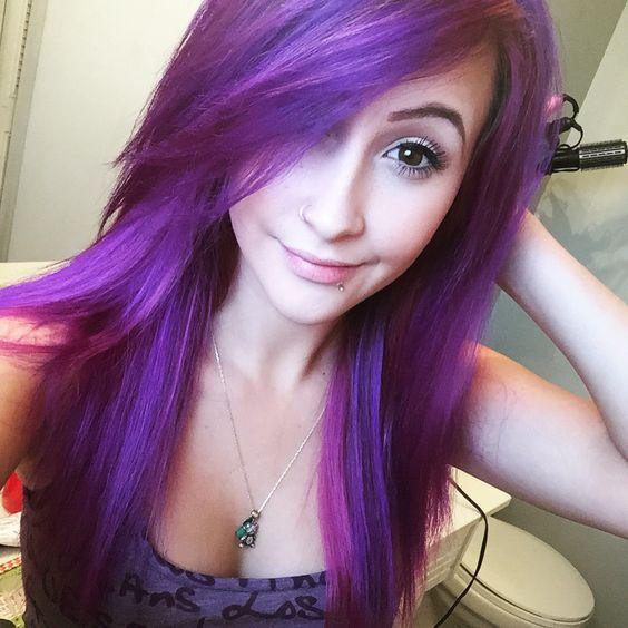 New purple hair