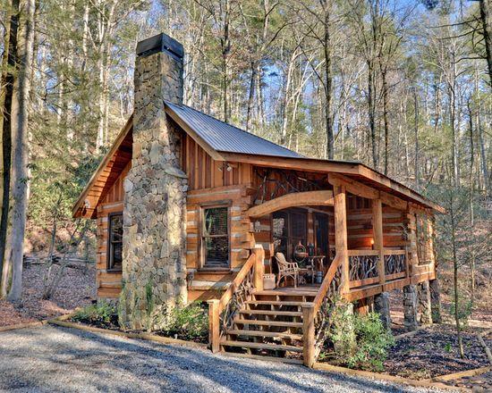 17 Lovely Small Mountain Cabin Designs Ideas Cabin Design Mountain Cabin Hunting Cabin